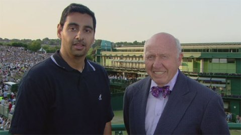 Ravi Ubha and Bud Collins