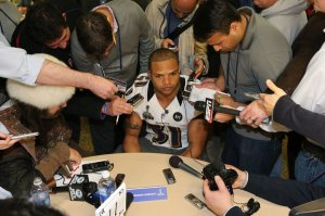 NFL: Super Bowl XLVII-Baltimore Ravens Press Conference